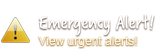 Emergency Alert - View Urgent Alerts